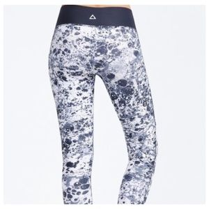 PrismSport Marble Yoga Pants Athleisure M